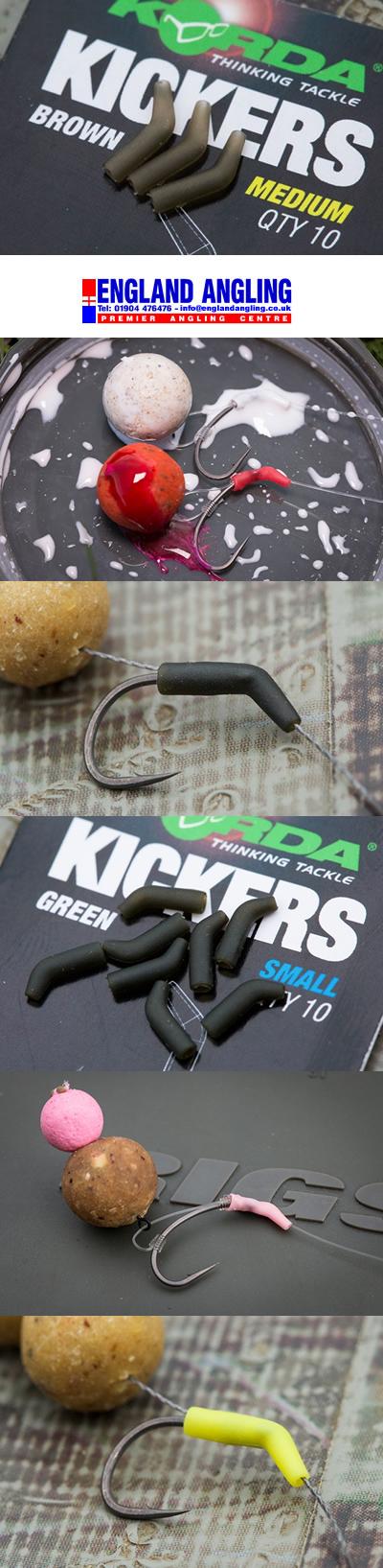 Korda Kickers Medium /& Large Green Bundle
